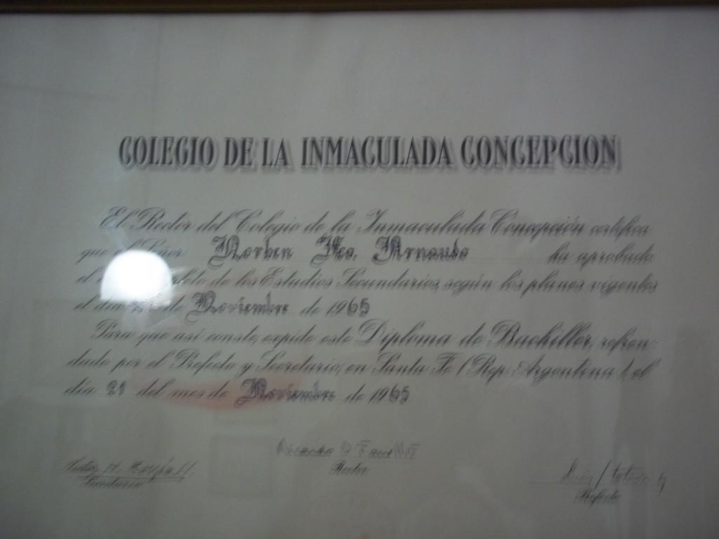Aernaudo diploma