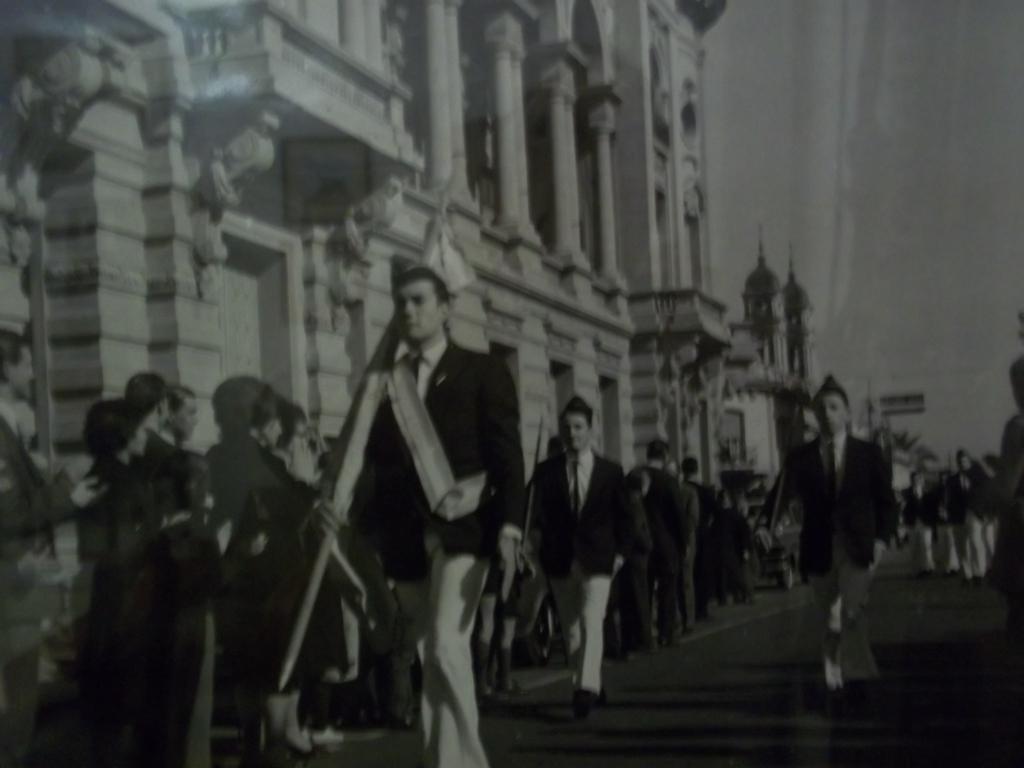 Arnaudo desfile