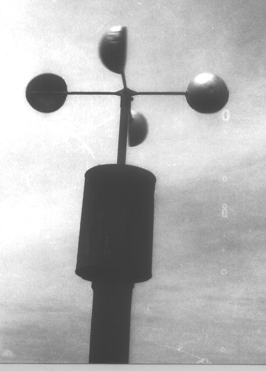 Inmaculada anemómetro