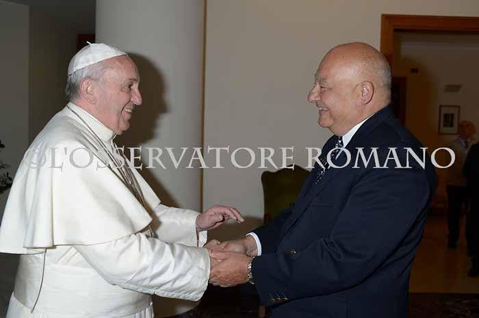 Papa y Oliverio