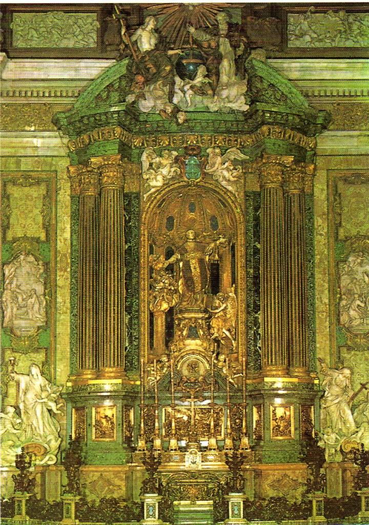 51 Gesú Altar de San Ignacio